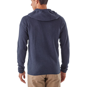 Patagonia Performance Better Sweater Hoody Men Navy Blue
